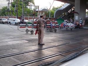 タイ踏切1